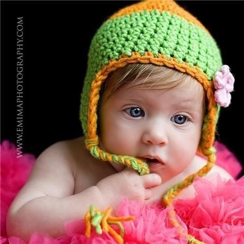 Crocheted Hat With Ear Flap Patterns - Online Crochet