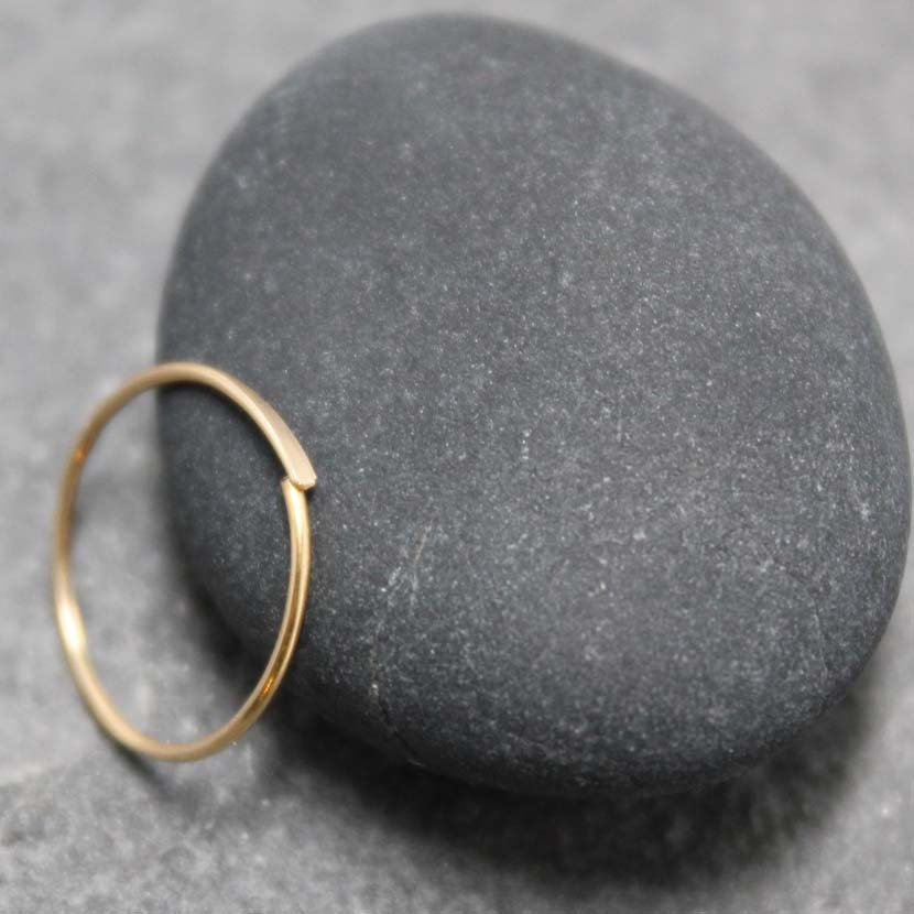 items similar to 14k 13mm solid gold nose ring tragus
