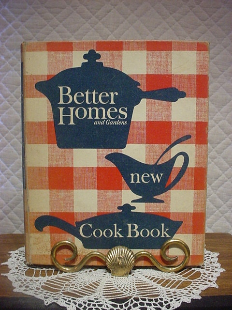 Vintage 1950s cookbook Better Homes and Gardens by