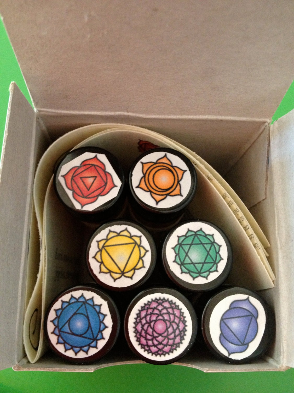 Chakra Balancing Set --- 3 New Sets Blended on 12/12/12