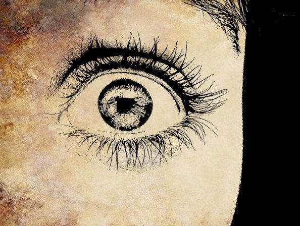 womans scared eye png file clip art stamp Digital graphics coloring sheet beauty makeup Image Download - VellasCollageSheets