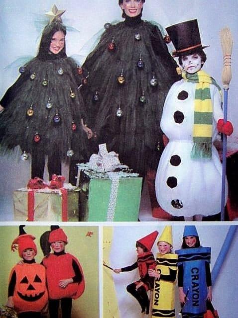Christmas Tree Costume Pattern