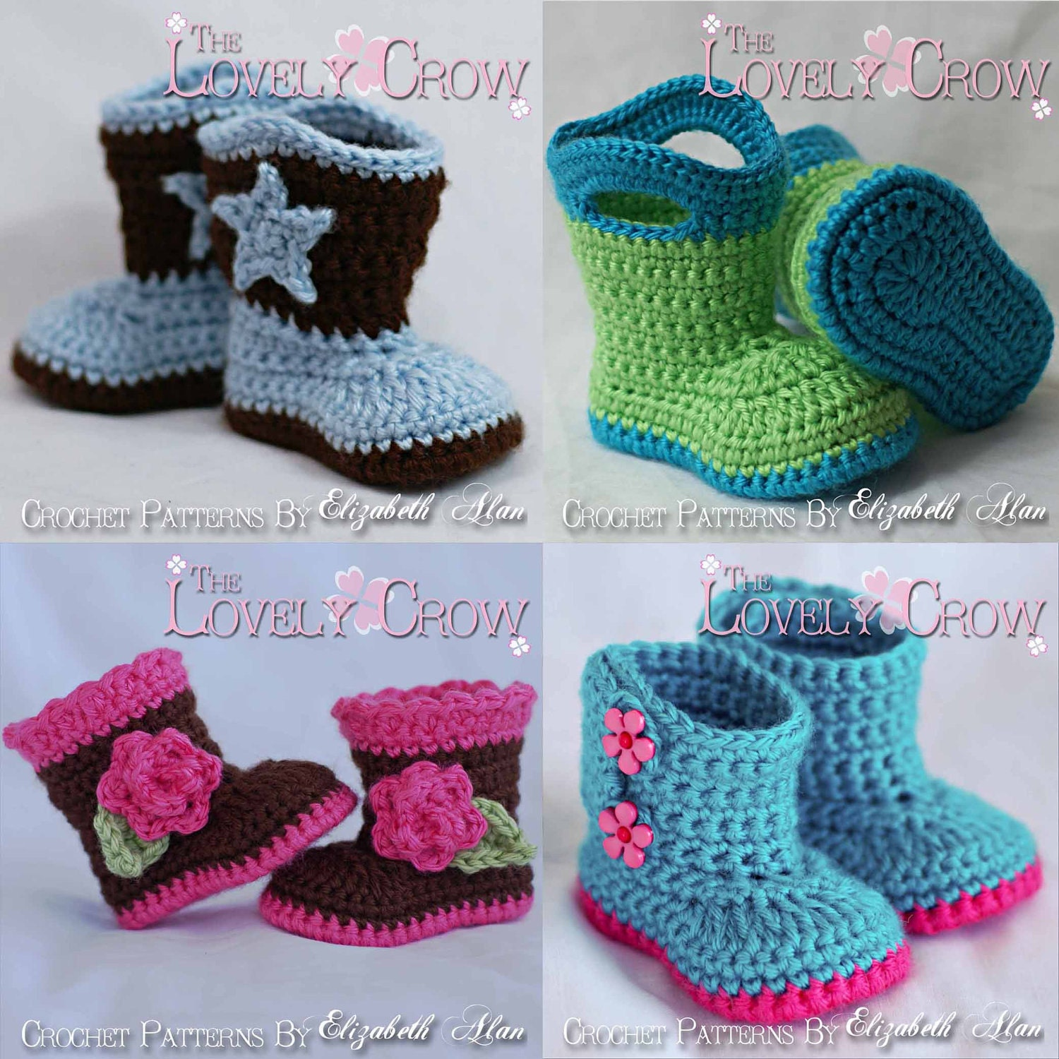 Crochet Baby Ankle Booties Free Pattern : ankle booties
