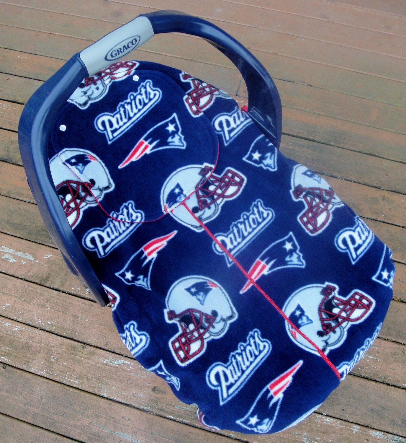 Reserved For Cindy New England Patriots Car Seat By