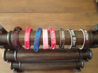 Free engraving on over 7 styles of Personalized Leather Bracelets