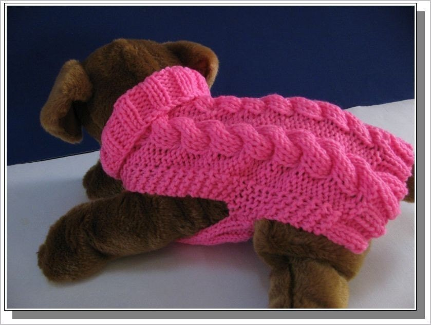 Similiar Beginner Knit Dog Sweater Pattern Keywords
