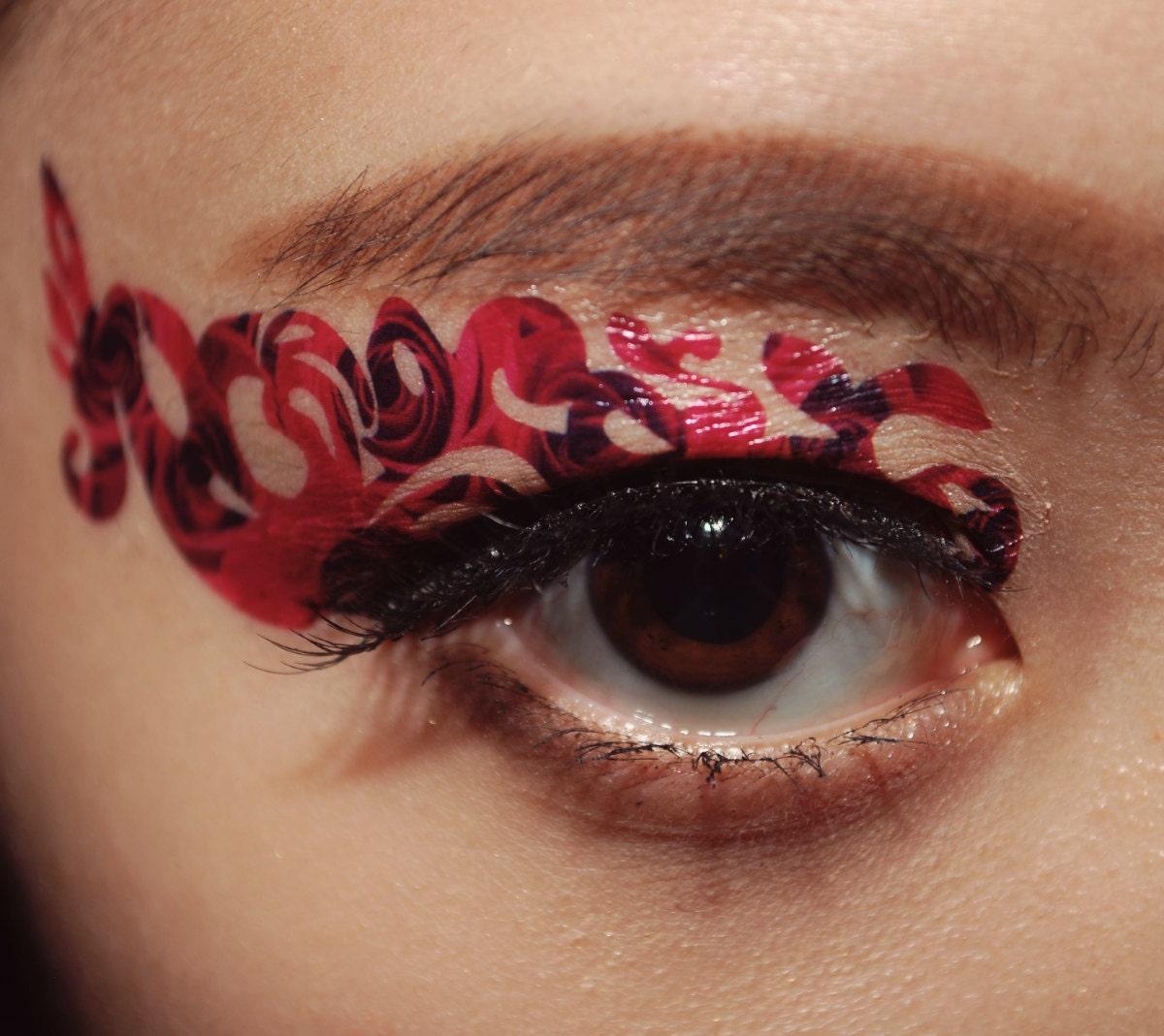 Eye makeup tattoos