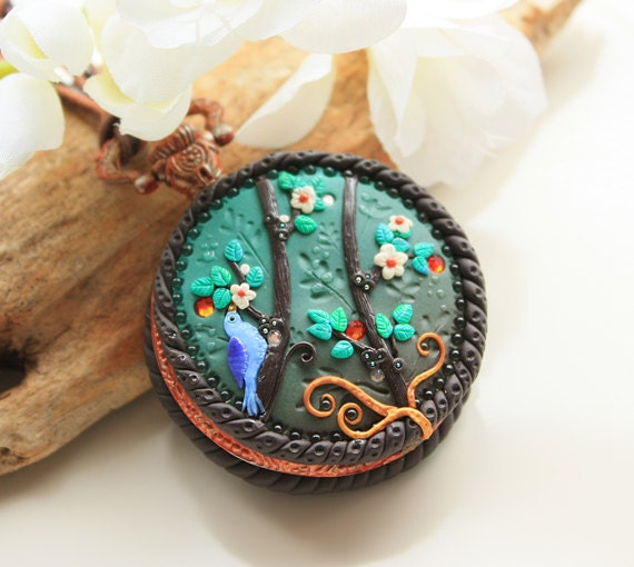 Enchanting Spring Locket by Mandarin Duck