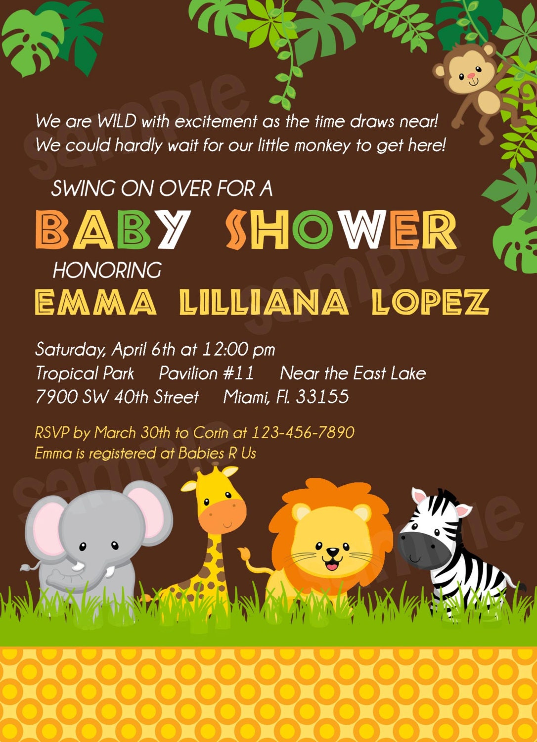 Neutral Baby Shower Invitation Wording is beautiful invitations design