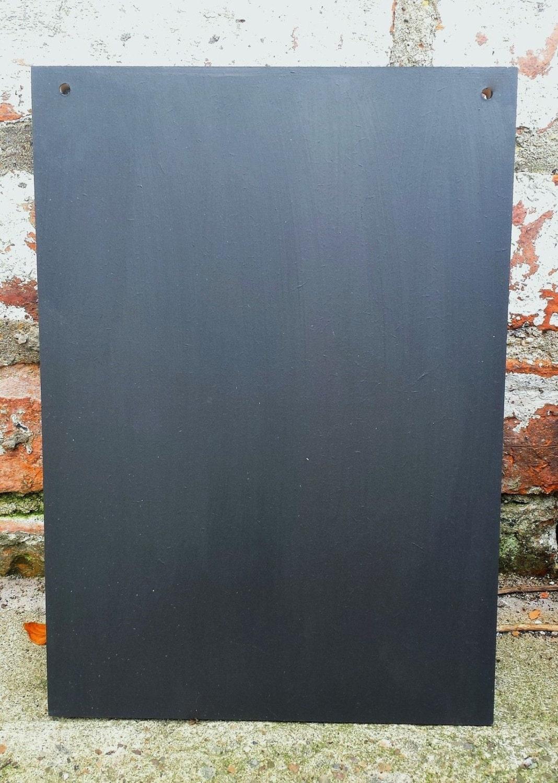A3 Chalkboard Blank Shabby Chic Blank Large Blackboard