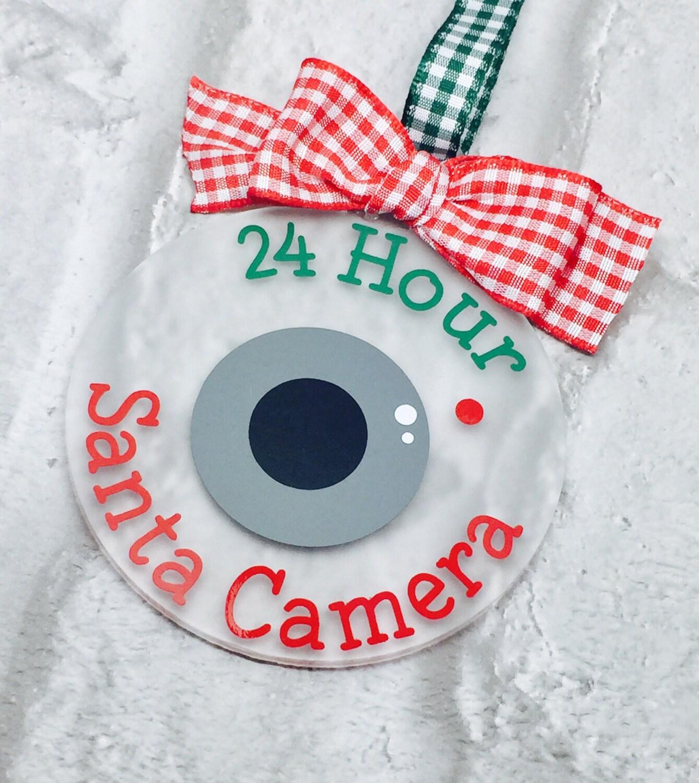Santa Camera Santa Cam Elf Camera North Pole Camera Santa Camera Tree Decoration Good Behaviour Camera Tree Ornament
