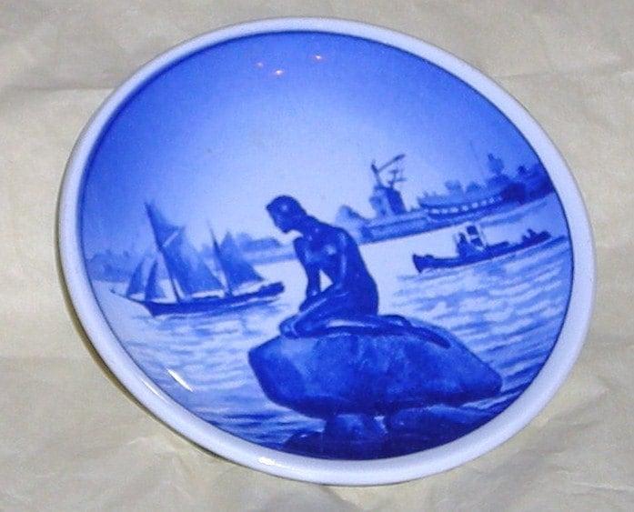 Items Similar To Royal Copenhagen Denmark Mini Plates