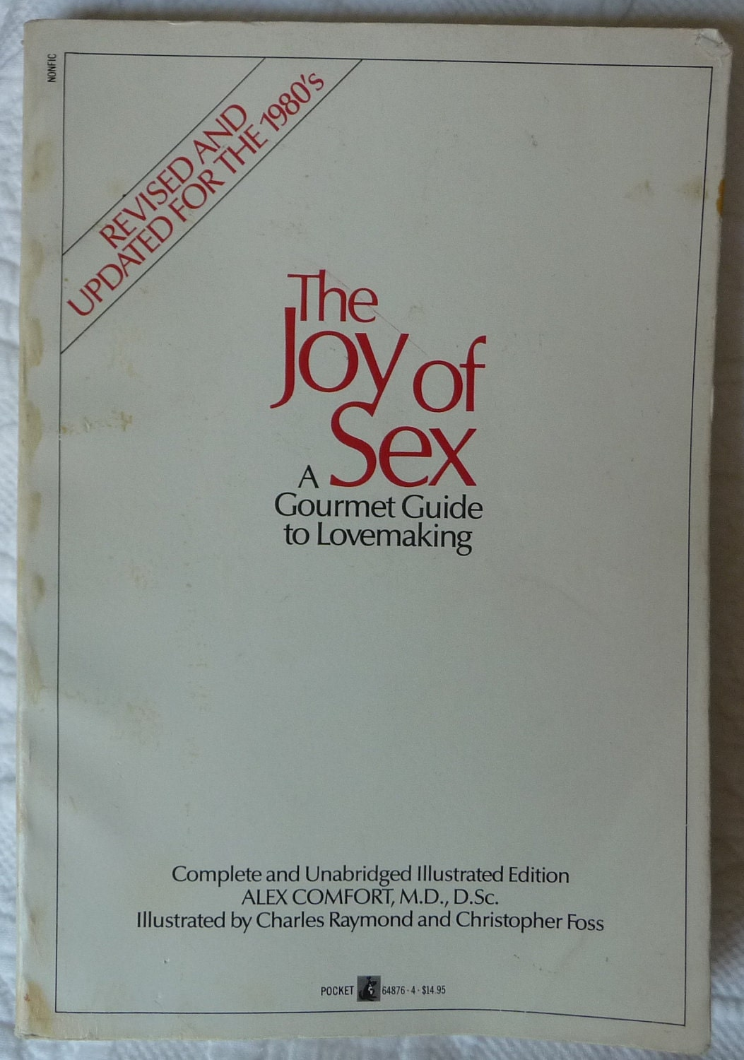 il fullxfull.309158357 MATURE BOOK   The Joy of Sex   A Gourmet Guide to Lovemaking   ILLUSTRATED