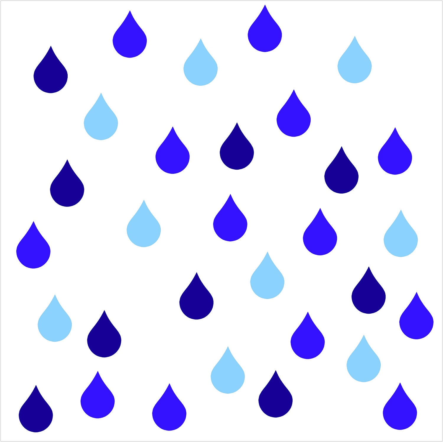 Cloudy Day Clip Art Rainy day raindrop vinyl wall