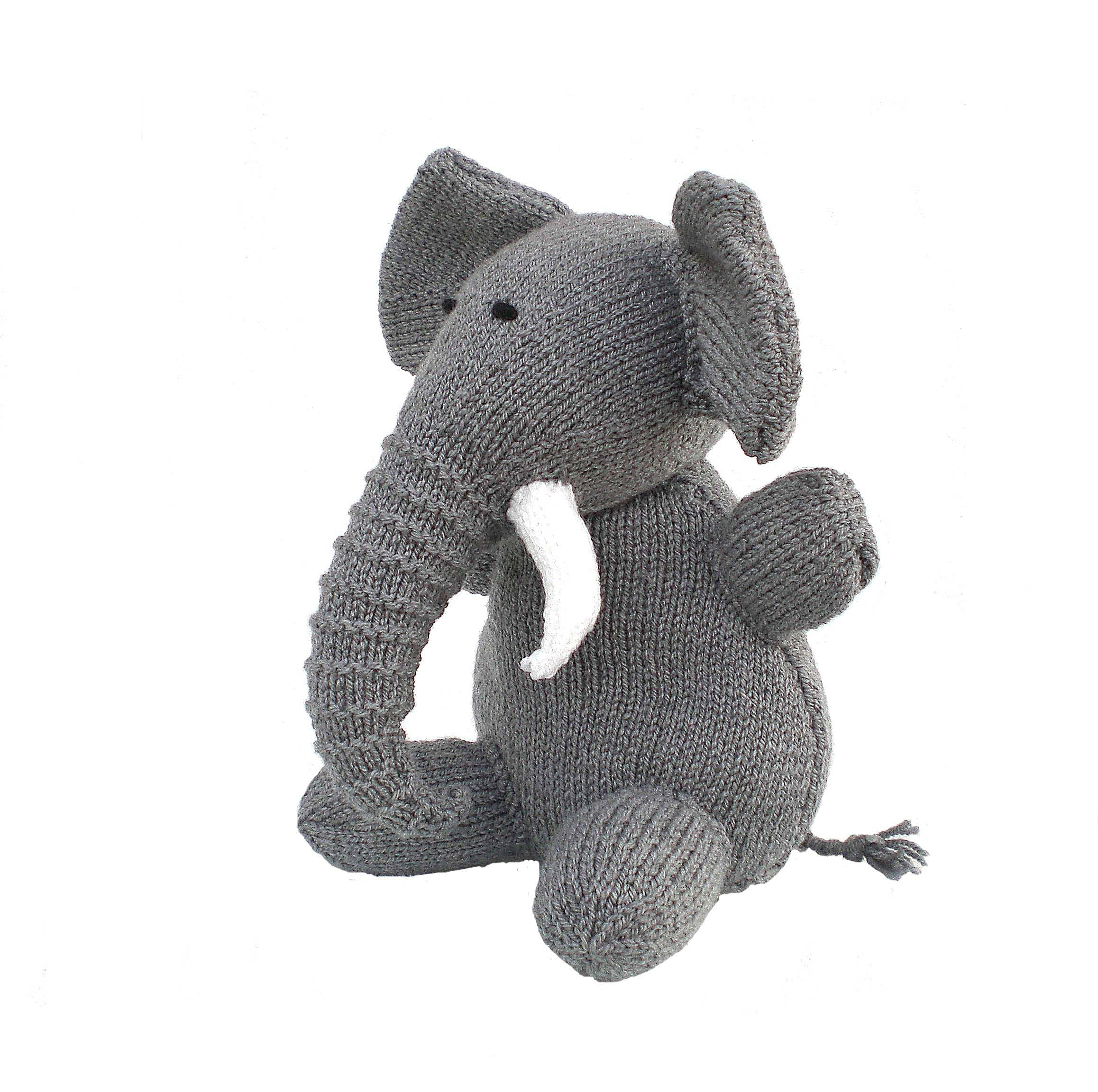 Knitted Elephant Toy, CE Tested Toy, Knitted Toy, Stuffed Toy, Soft Toy, Child Gift, Kids Gift, Baby Shower Present, Christmas Gift
