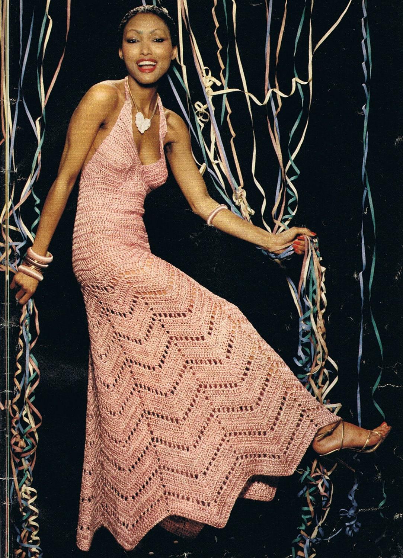 440Вязание крючком шикарные платья