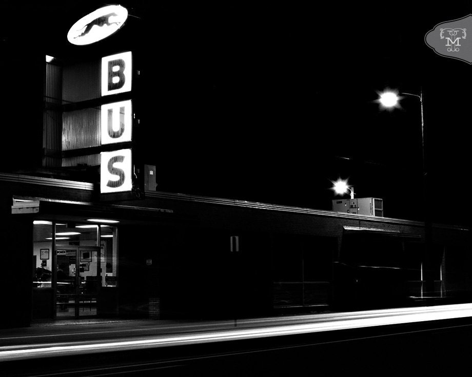 Night Bus 8x10 Fine Art Print