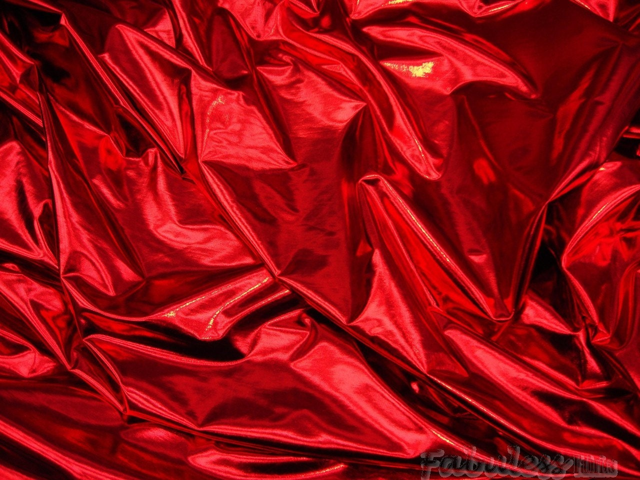 20 yards red metallic spandex lycra fabric 60 by for Lycra fabric