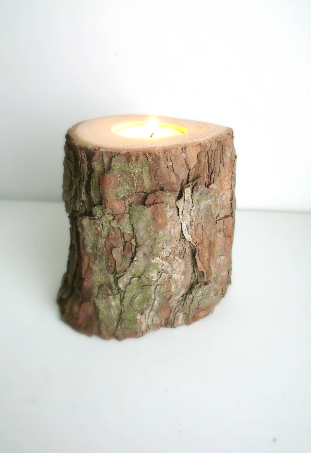 Request a custom order and have something made just for you for Rustic wood candle holders