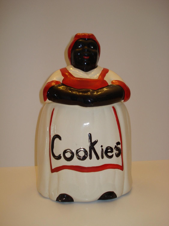 Sale Vintage Aunt Jemima Cookie Jar By Greenhousecollection