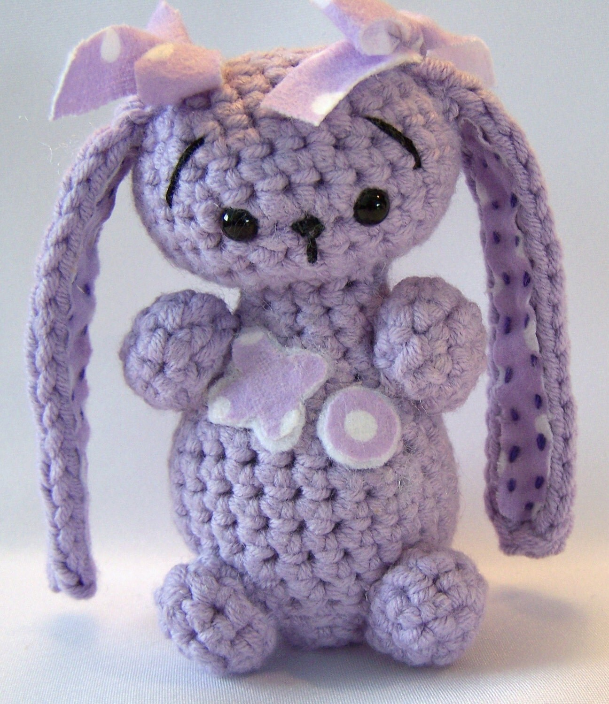 Amigurumi Floppy Ear Bunny : Floppy Ear Bunny Crocheted Amigurumi loveable by ...