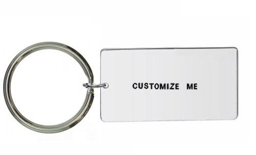 large keyring Custom Keyring Personalised Keyring Hand Stamped Keyring Custom Keychain Personalized Keychain Customisable Keyring