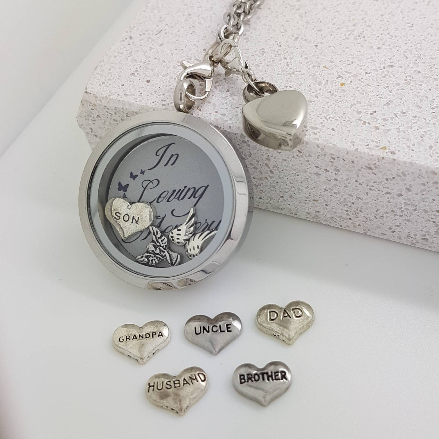 Cremation Jewellery Ashes Keepsake Urn Necklace Dad Ashes Locket Mum Memory Of Son Memorial Jewelry Cremation Locket Urn Locket