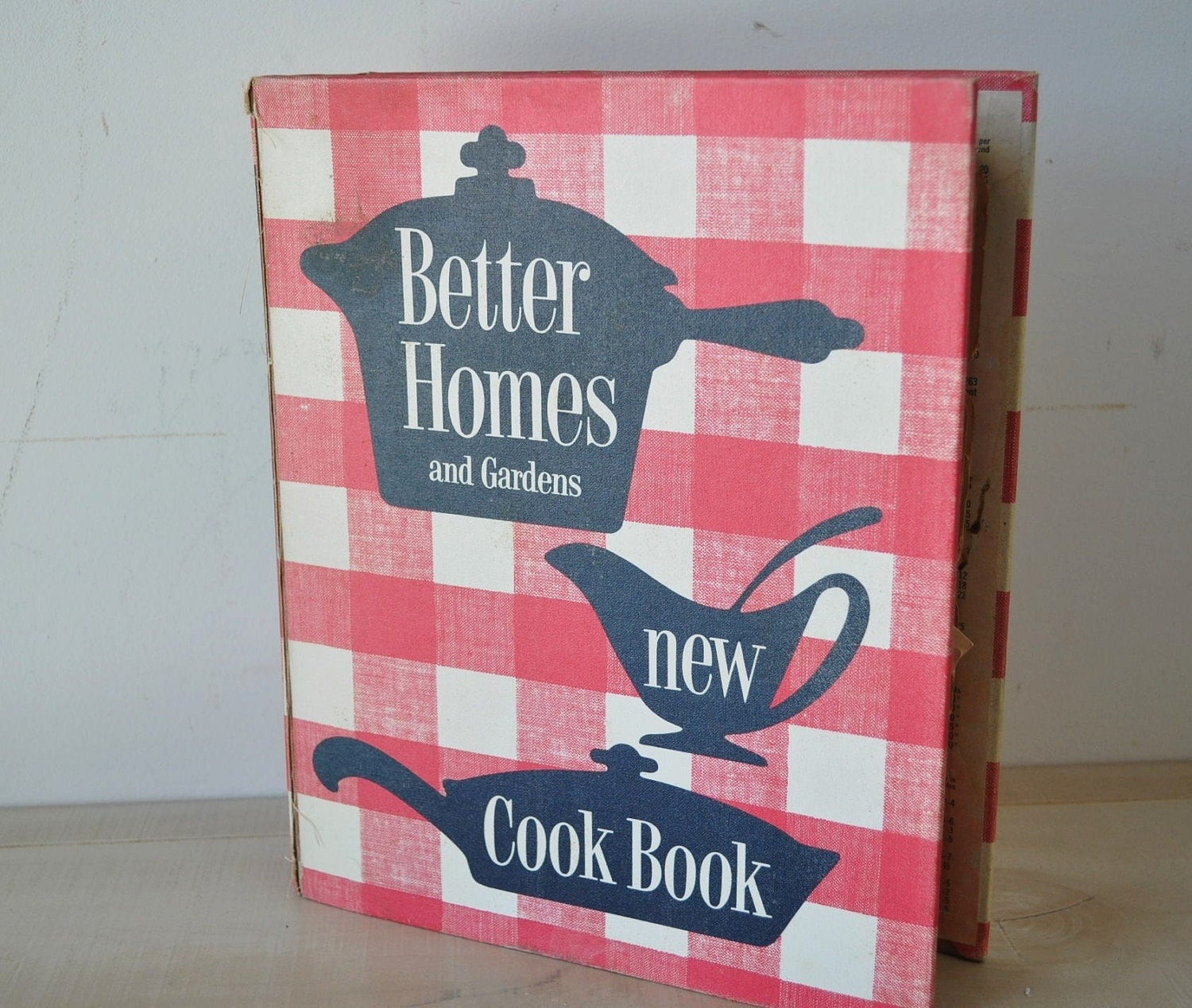 1950s Better Homes and Gardens new Cookbook spiral by