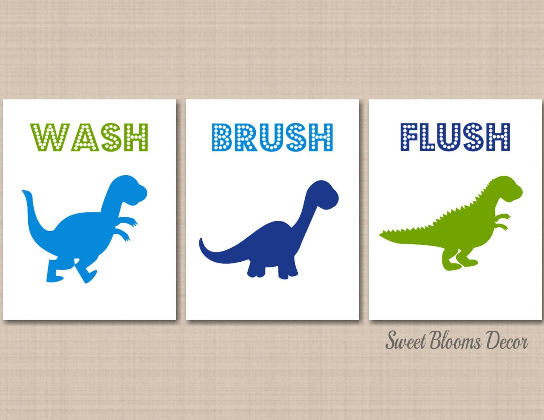 Dinosaur bathroom set