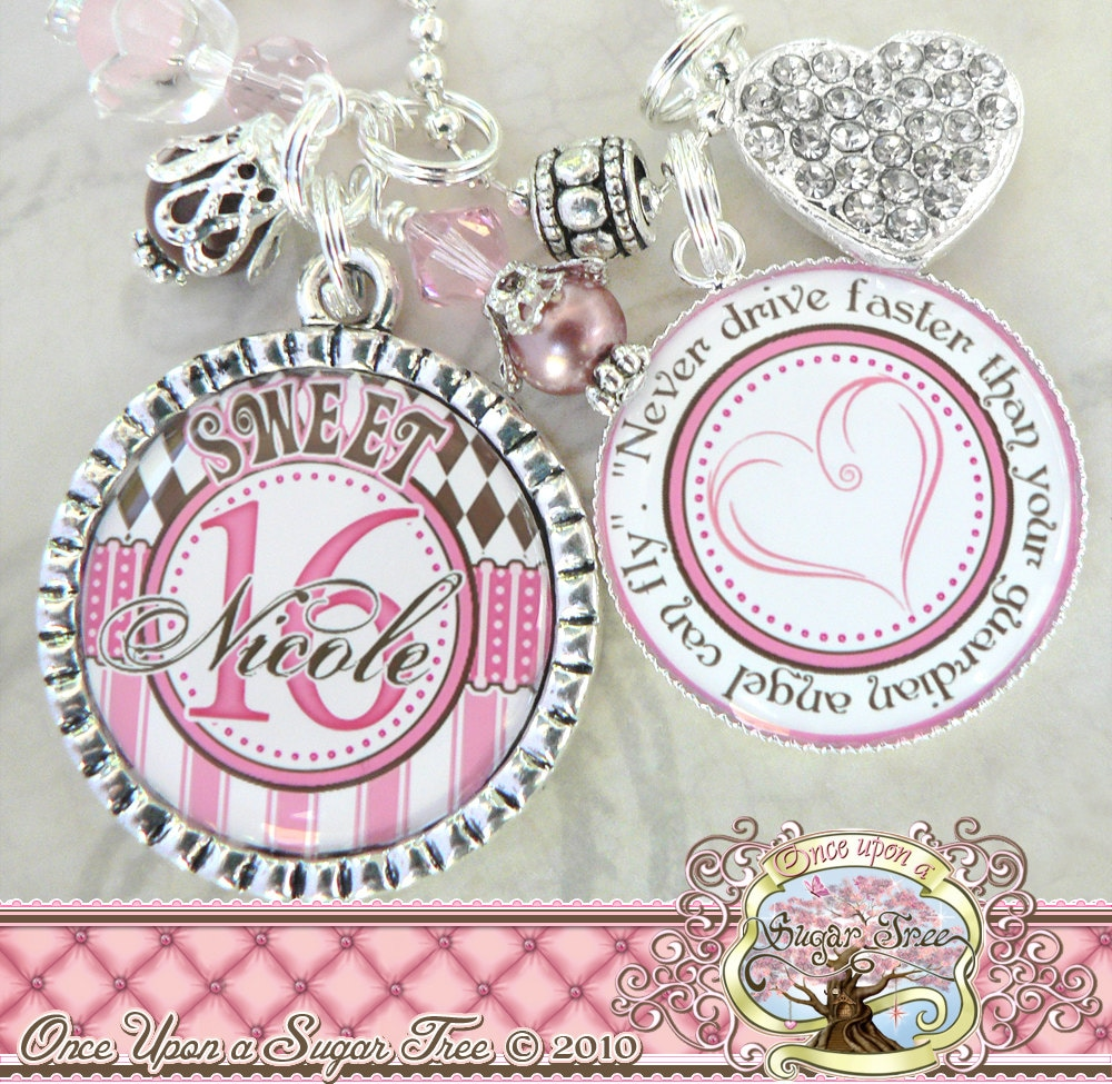 SWEET 16 Gift Personalized Name Necklace Or By
