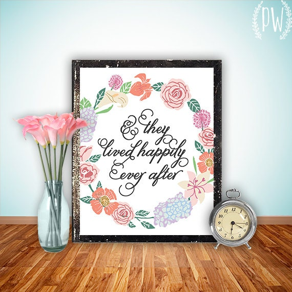 Items similar to Quote Wall art Print Printable home
