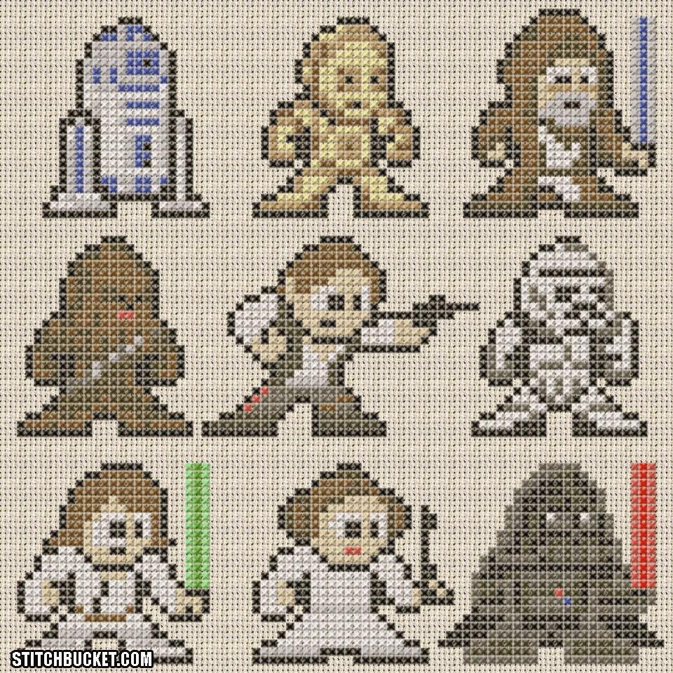 Star wars схема вязания 9