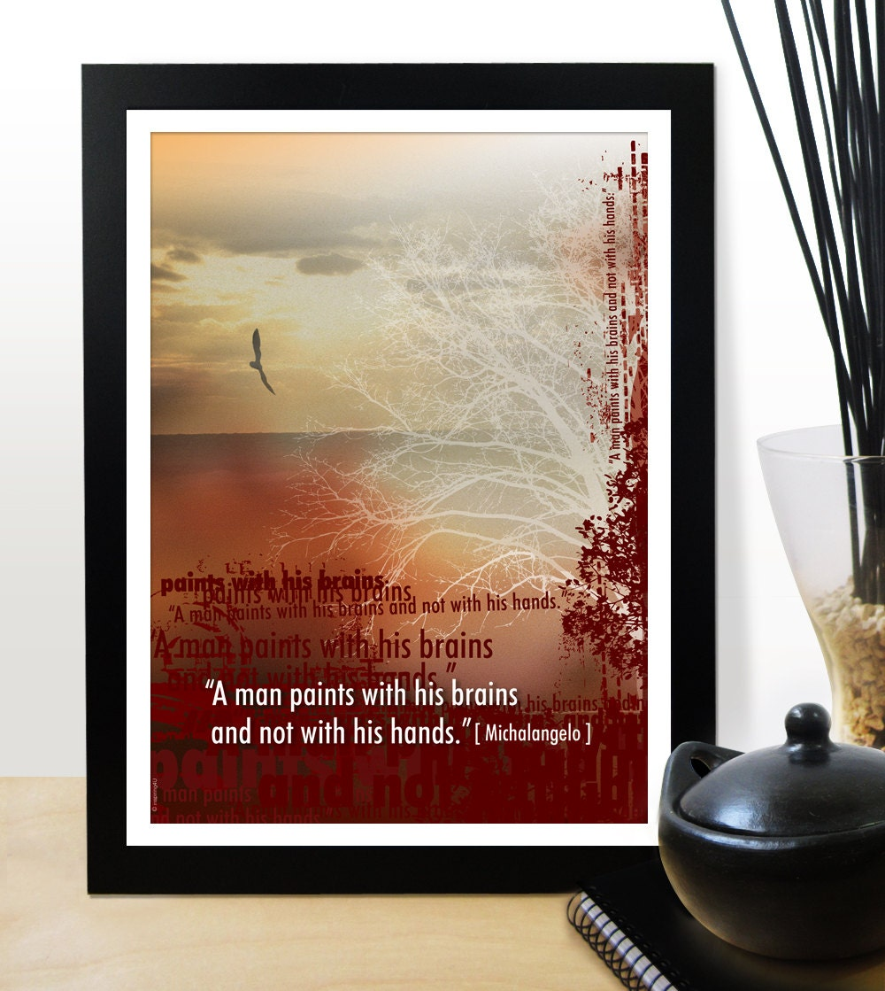 A3 office wall decor inspirational poster by inspiring4u for Inspirational items for office