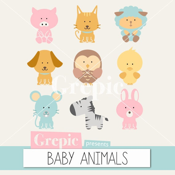 animals clipart pack - photo #3