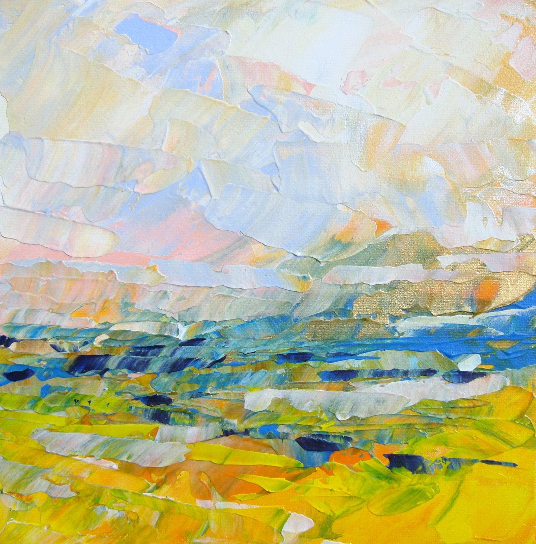 Loose landscapes on pinterest landscape paintings for Artwork landscapes