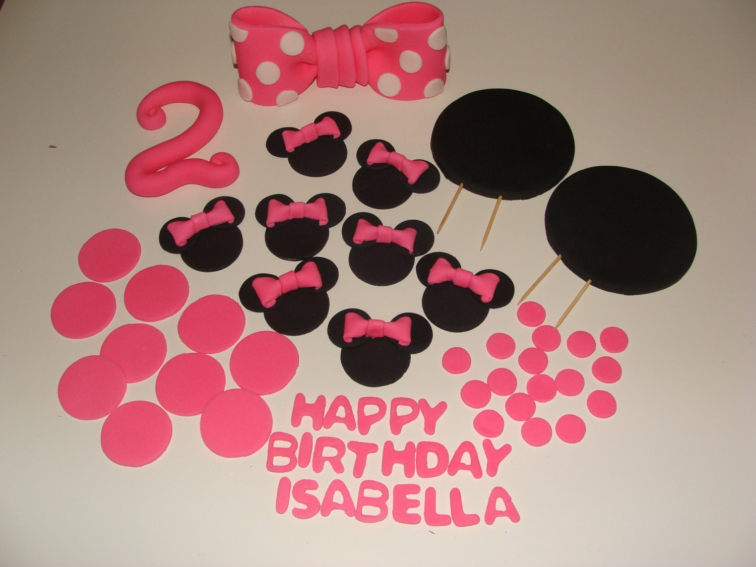 Baby Mickey Mouse Edible Cake Decorations Edible Baby Minnie Mouse Cake Topper Cake