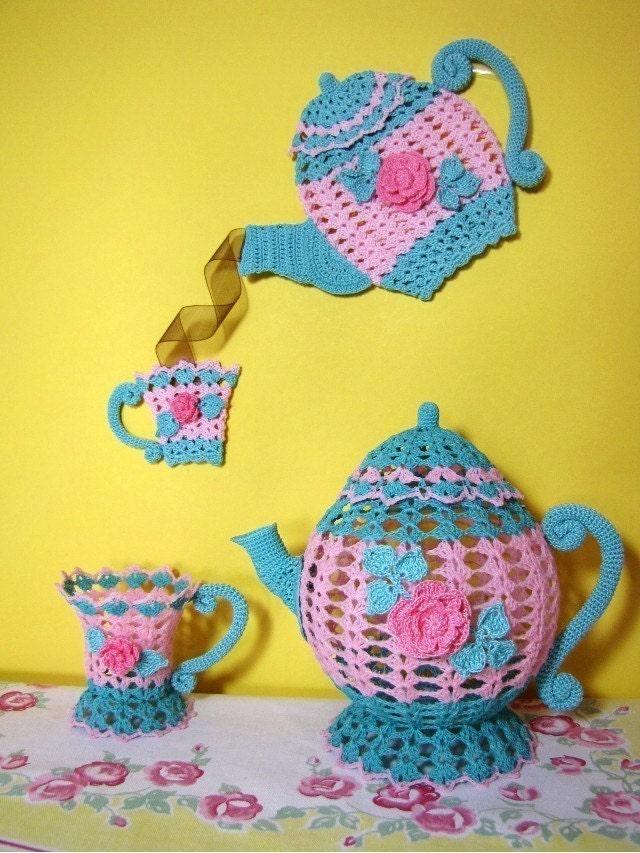 Time for Tea Crochet PDF Pattern Ebook