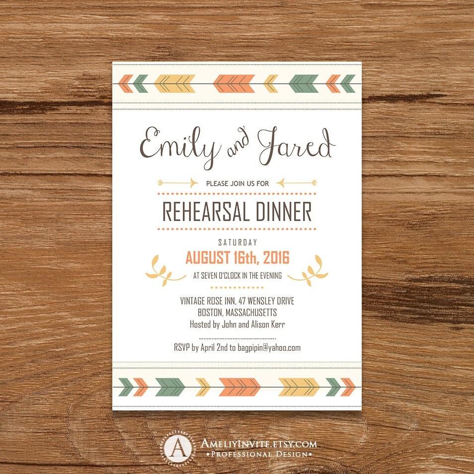 rehearsal dinner invitations printable rehearsal dinner