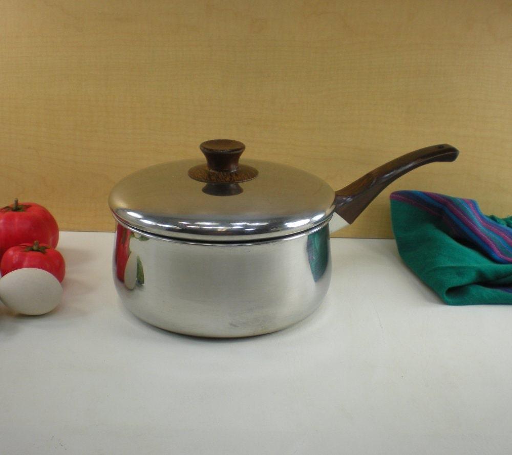 Sears Range Craft 3 Quart Sauce Pan Pot By Oldetymestore