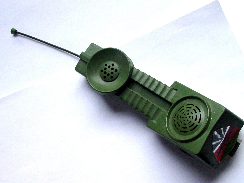 Combat Phone Set Walkie Talkies Johnny Seven By