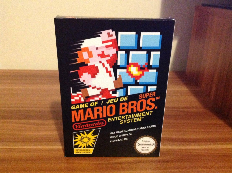 NES Super Mario Bros  Repro Box NO Game Included