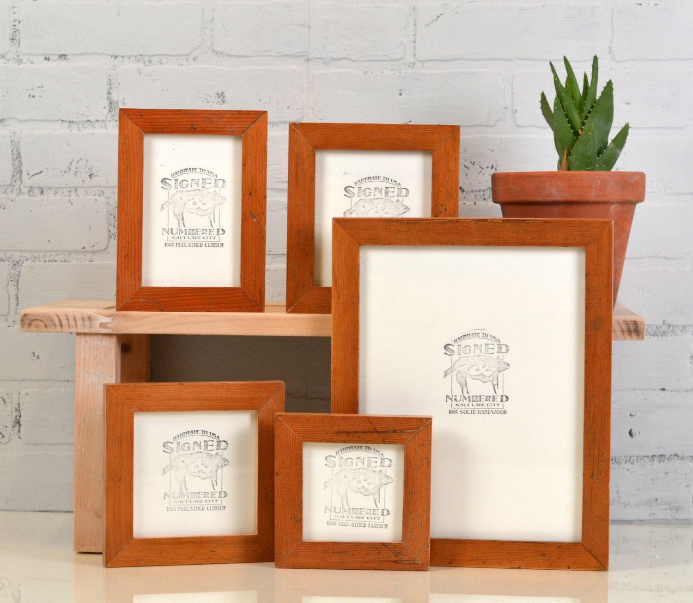 Custom poster frame sizes