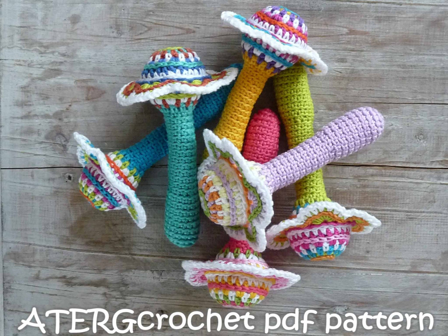 Baby Rattle Crochet Patterns submited images Pic2Fly