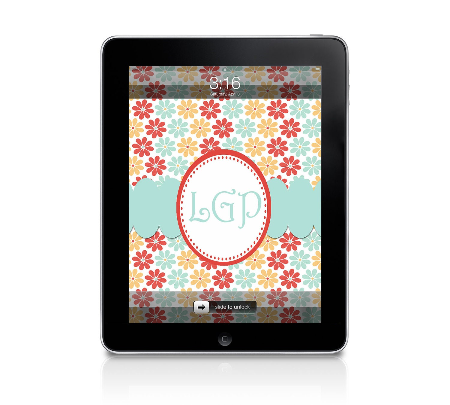 personalized ipad wallpaper by elliebluedesigns on etsy