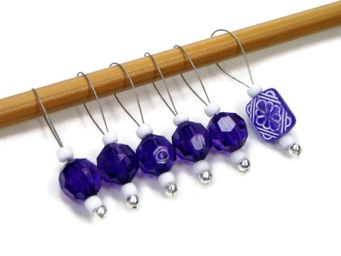 Knitting Markers Diy : Knitting stitch markers snag free diy gift by