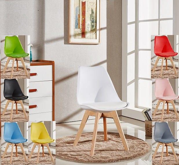 Lorenzo Stylish Tulip Chair Modern Living Room Dining Room Chair Mid Century Design Scandinavian furniture EAMES