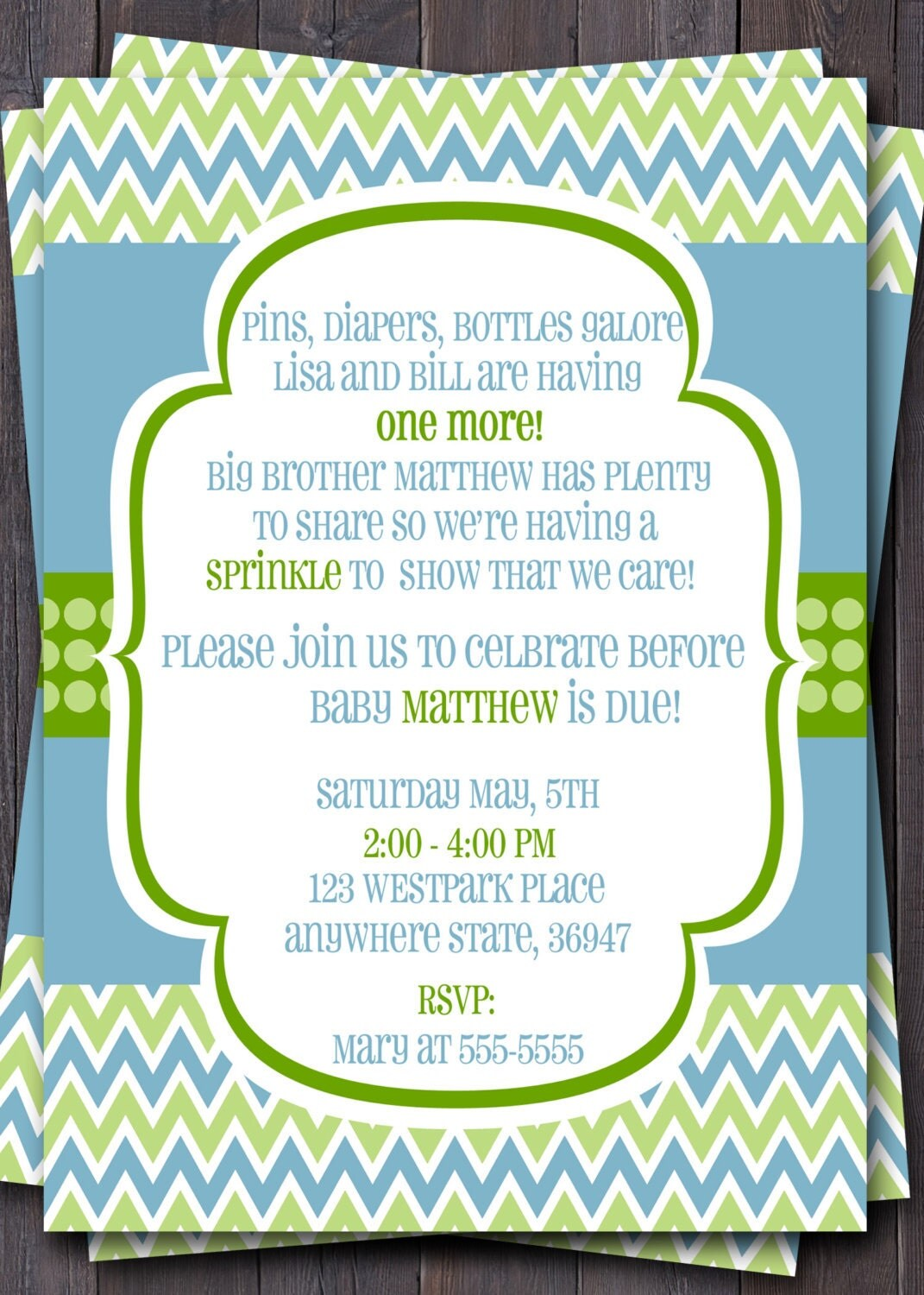 Sip And Shop Invitation with amazing invitations example