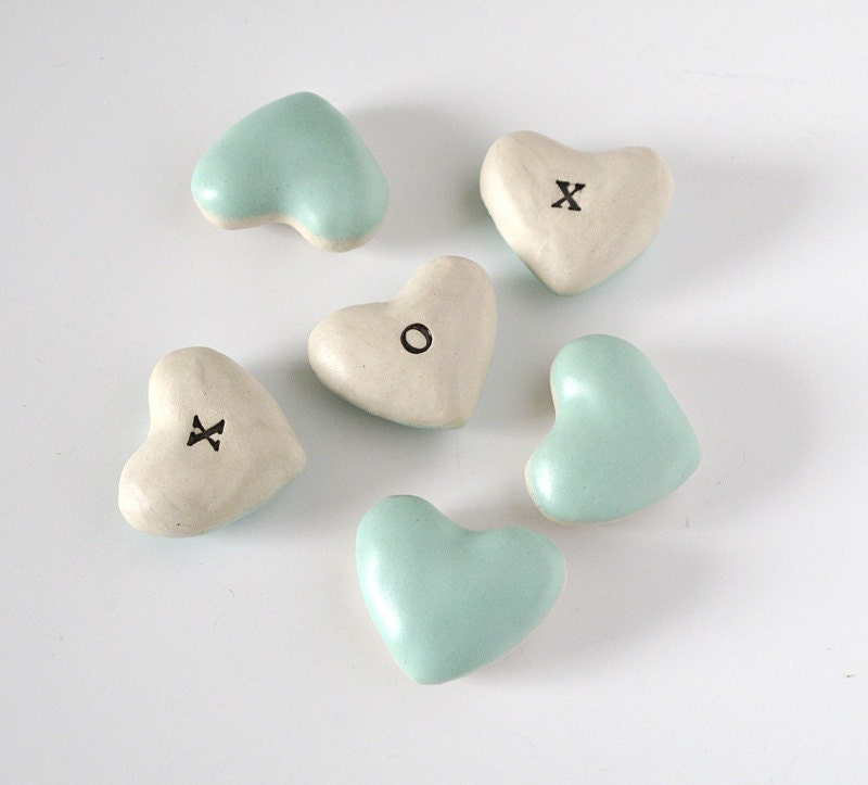 x o x o hearts. Made to Order.