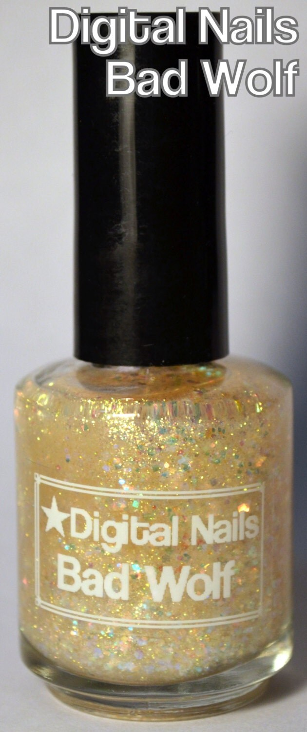 Bad Wolf: a Doctor Who inspired nail lacquer from Digital Nails