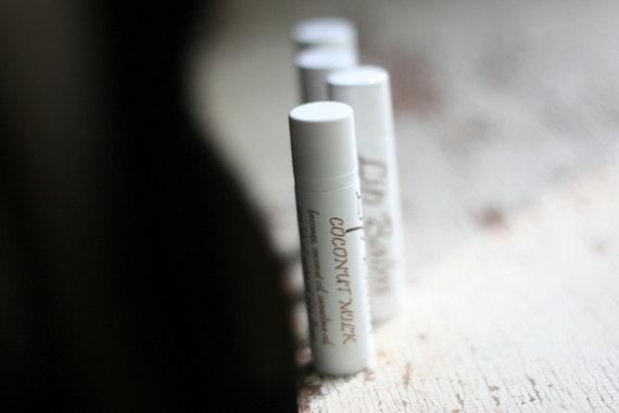 Handmade Lip Balm - Coconut Milk Lip Balm - HiddenAcresSoapCo
